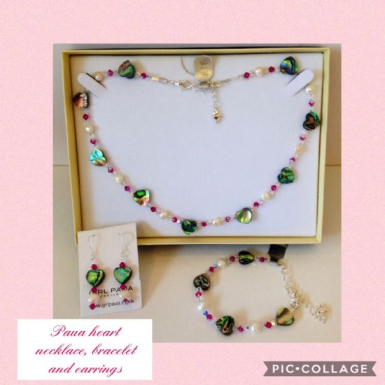 Paua Jewellery Sets